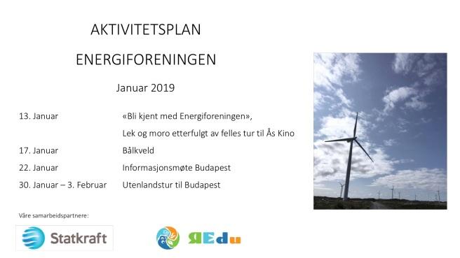 aktivitetsplan januar