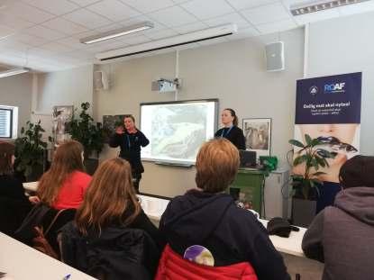 Presentasjon av ROAF om hva de jobber med