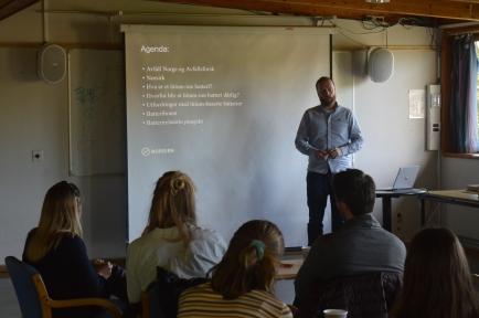 Morten Onsrud fra Nordsirk snakker om batterier