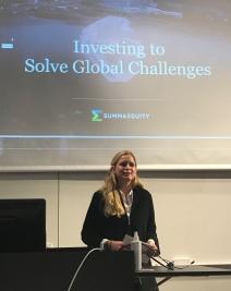 Foredrag ved Hannah Jacobsen fra Summa Equity